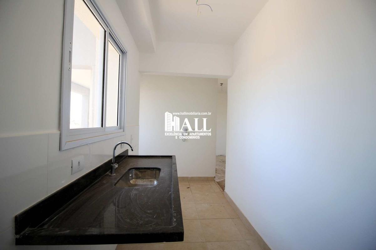 apartamento com 2 dorms, jardim tarraf ii, são josé do rio preto - r$ 450 mil, cod: 2956 - v2956