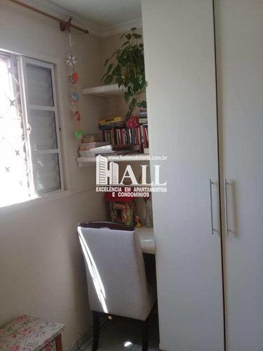 apartamento com 2 dorms, jardim yolanda, são josé do rio preto - r$ 129.000,00, 54m² - codigo: 73 - v73