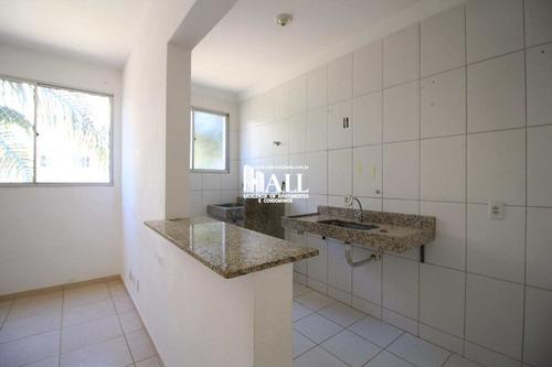apartamento com 2 dorms, jardim yolanda, são josé do rio preto - r$ 159.000,00, 60m² - codigo: 4263 - v4263