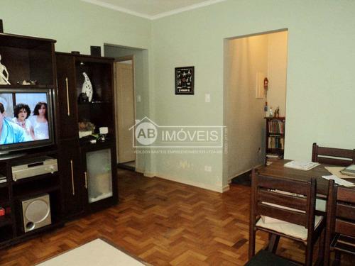 apartamento com 2 dorms, josé menino, santos - r$ 420 mil, cod: 2861 - v2861