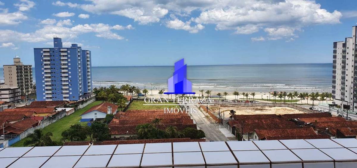 apartamento com 2 dorms, maracanã, praia grande - v427