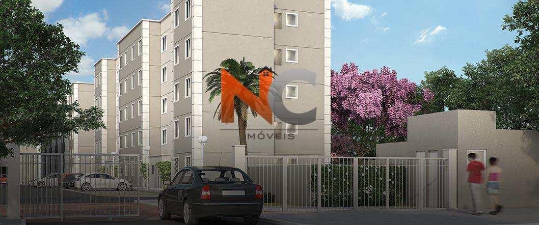 apartamento com 2 dorms, nova cidade, são gonçalo - r$ 175 mil, cod: 91 - v91