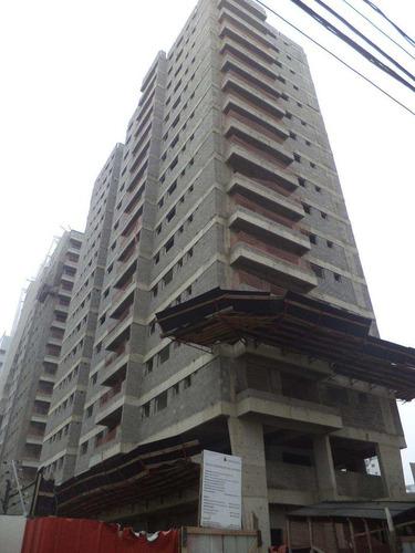 apartamento com 2 dorms, ocian, praia grande - r$ 290.000,00, 63m² - codigo: 413107 - v413107