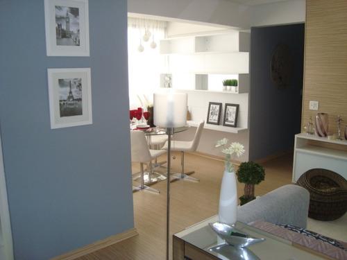 apartamento com 2 dorms - pq ipê - rodízio 57355