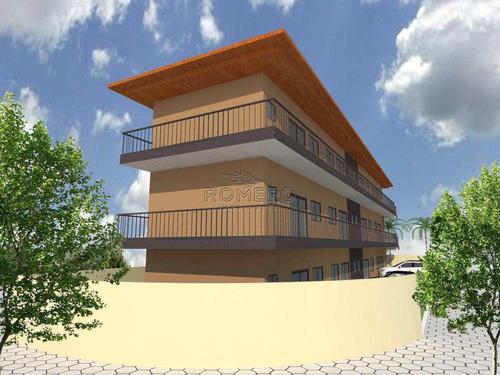 apartamento com 2 dorms, praia da maranduba, ubatuba - r$ 110 mil, cod: 905 - v905