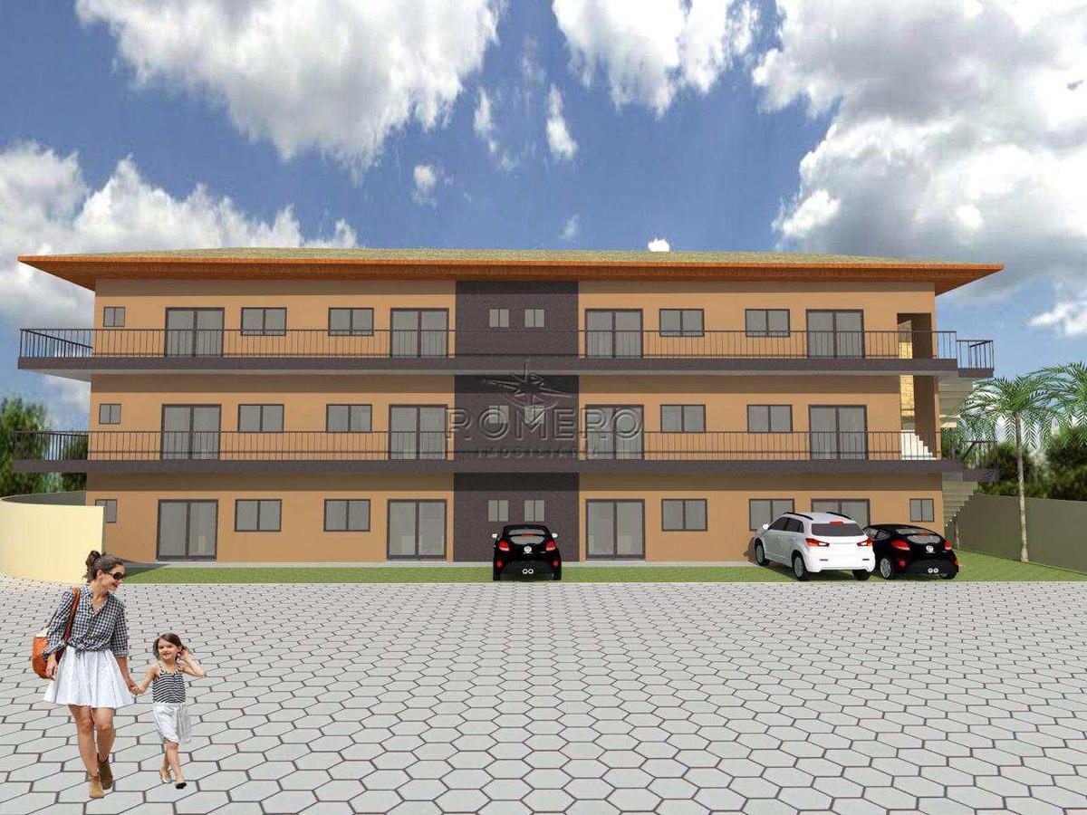 apartamento com 2 dorms, praia da maranduba, ubatuba - r$ 119 mil, cod: 905 - v905