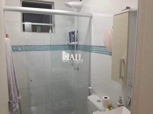 apartamento com 2 dorms, residencial ana célia, são josé do rio preto - r$ 148.000,00, 48m² - codigo: 2069 - v2069