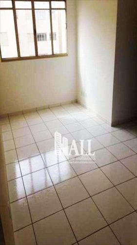 apartamento com 2 dorms, residencial macedo teles i, são josé do rio preto - r$ 174.000,00, 64m² - codigo: 1740 - v1740