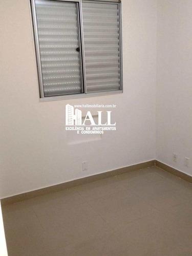 apartamento com 2 dorms, rios di itália, são josé do rio preto - r$ 165.000,00, 49m² - codigo: 3812 - v3812