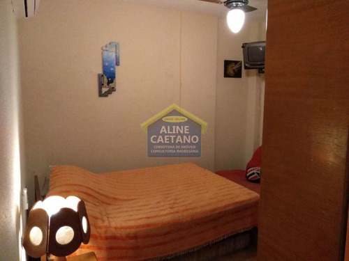 apartamento com 2 dorms, tupi, praia grande - r$ 201 mil, cod: ac376 - vac376