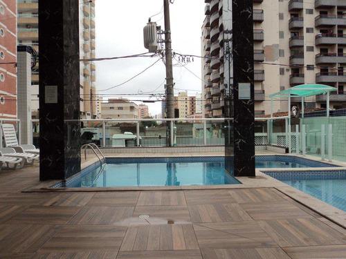 apartamento com 2 dorms, tupi, praia grande - r$ 386.000,00, 75,35m² - codigo: 412598 - v412598