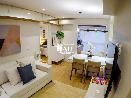 apartamento com 2 dorms, vila curti, são josé do rio preto - r$ 279.000,00, 56m² - codigo: 3169 - v3169
