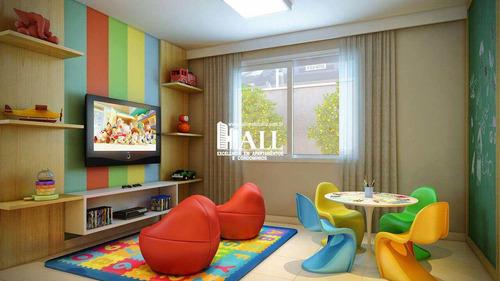 apartamento com 2 dorms, vila curti, são josé do rio preto - r$ 338.000,00, 65m² - codigo: 4376 - v4376