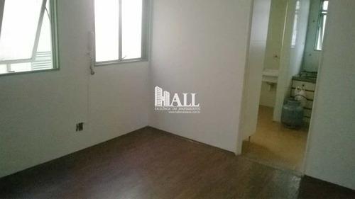 apartamento com 2 dorms, vila ercília, são josé do rio preto - r$ 200.000,00, 60m² - codigo: 2042 - v2042
