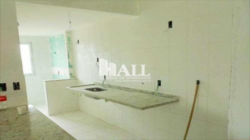 apartamento com 2 dorms, vila ercília, são josé do rio preto - r$ 219.000,00, 62m² - codigo: 227 - v227