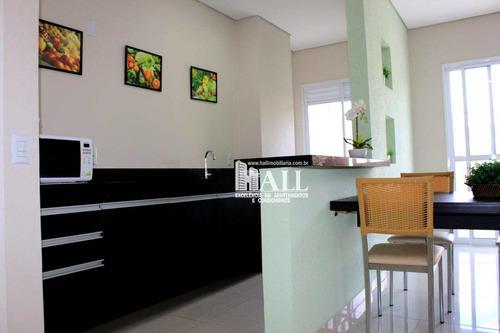apartamento com 2 dorms, vila ercília, são josé do rio preto - r$ 298.000,00, 60m² - codigo: 3512 - v3512
