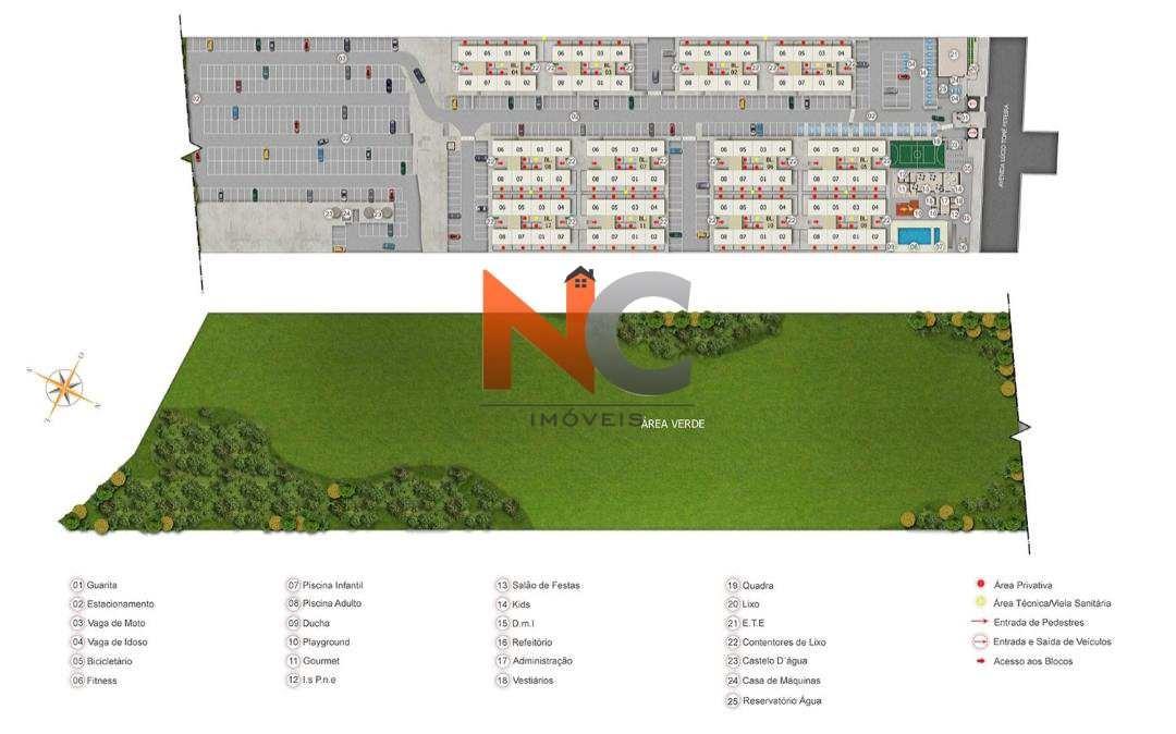 apartamento com 2 dorms, vila lage, são gonçalo - r$ 160 mil, cod: 630 - v630