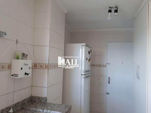 apartamento com 2 dorms, vila maceno, são josé do rio preto - r$ 275.000,00, 98m² - codigo: 3686 - v3686