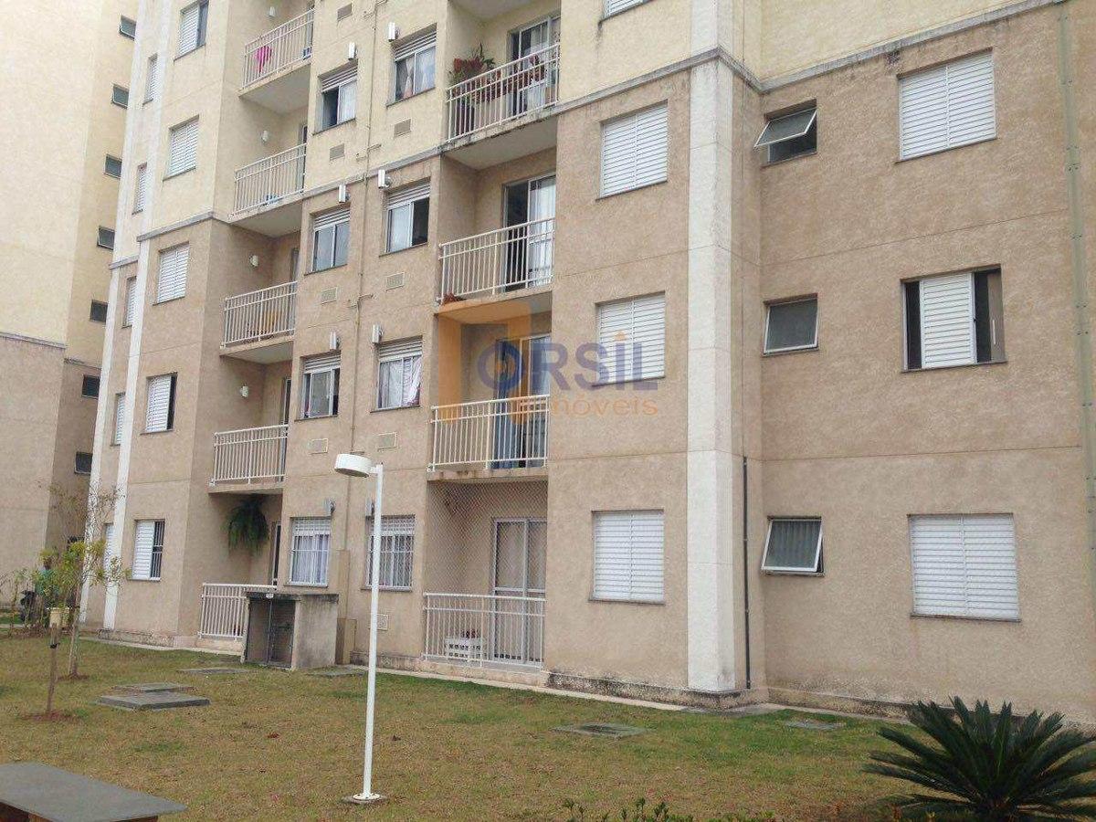 apartamento com 2 dorms, vila mogilar, mogi das cruzes - r$ 230 mil, cod: 1467 - v1467