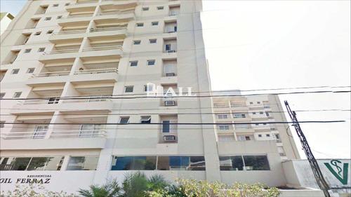 apartamento com 2 dorms, vila nossa senhora de fátima, são josé do rio preto - r$ 350.000,00, 68m² - codigo: 523 - v523