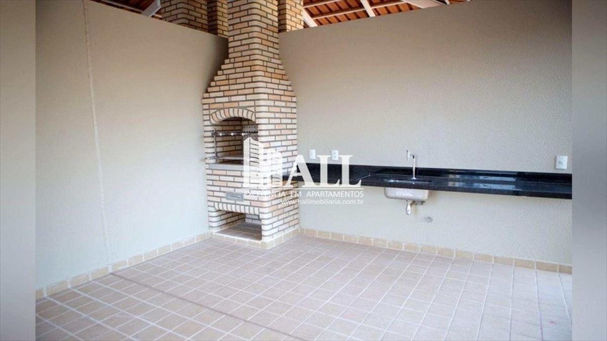 apartamento com 2 dorms, vila nossa senhora do bonfim, são josé do rio preto - r$ 430 mil, cod: 1107 - v1107