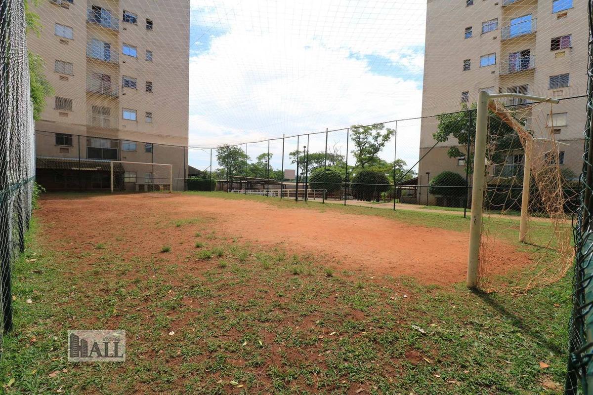 apartamento com 2 dorms, vila são judas tadeu, são josé do rio preto - r$ 165 mil, cod: 6288 - v6288