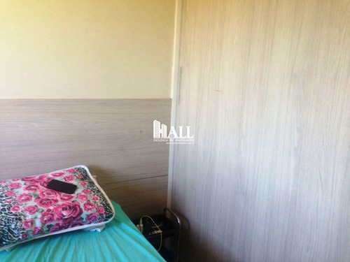 apartamento com 2 dorms, vila são judas tadeu, são josé do rio preto - r$ 170.000,00, 57m² - codigo: 1931 - v1931