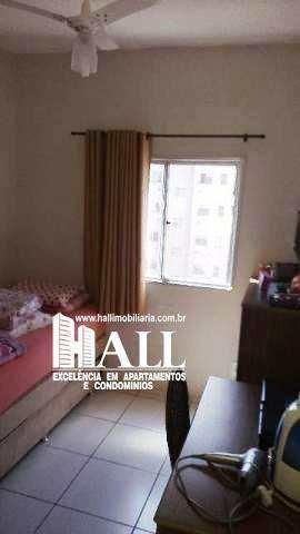 apartamento com 2 dorms, vila são judas tadeu, são josé do rio preto - r$ 185 mil, cod: 3562 - v3562