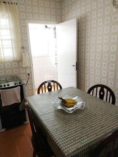 apartamento com 2 dorms, vista praia - josé menino - r$ 550 mil - v2890
