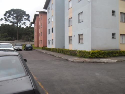 apartamento com 2 quartos - cajuru - curitiba/paraná