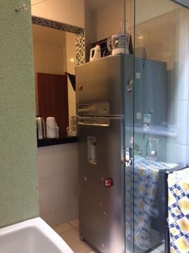 apartamento com 2 quartos e área privativa no bairro nova granada. - 1393