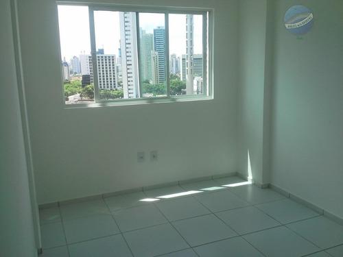 apartamento com 2 quartos em petrópolis, andar alto - ap0142