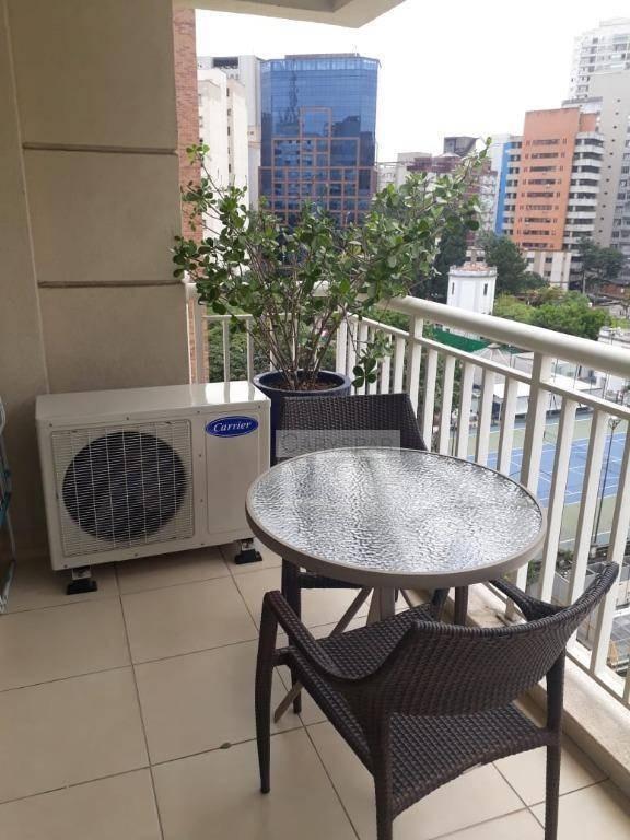 apartamento com 2 quartos para alugar, 58 m² por r$ 10.000/mês. - fl4674