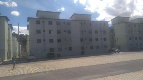 apartamento com 2 quartos para comprar no bonsucesso em vespasiano/mg - 3044