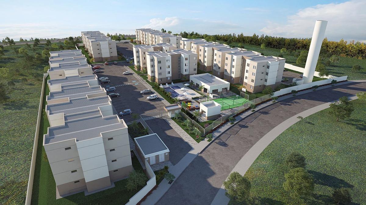 apartamento com 2 quartos para comprar no conquista varedas em contagem/mg - 5202