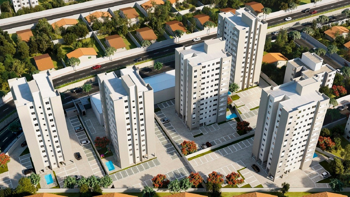 apartamento com 2 quartos para comprar no parque maracanã em contagem/mg - 1062