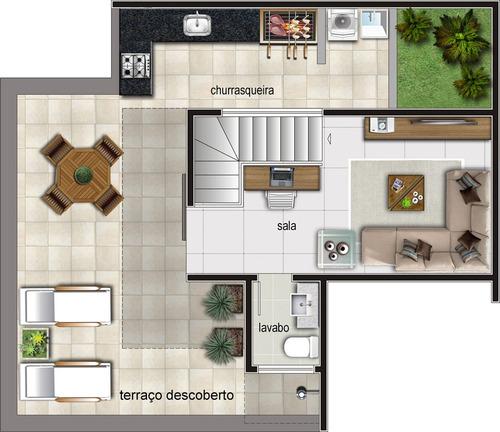 apartamento com 2 quartos para comprar no santa efigênia em belo horizonte/mg - 1591