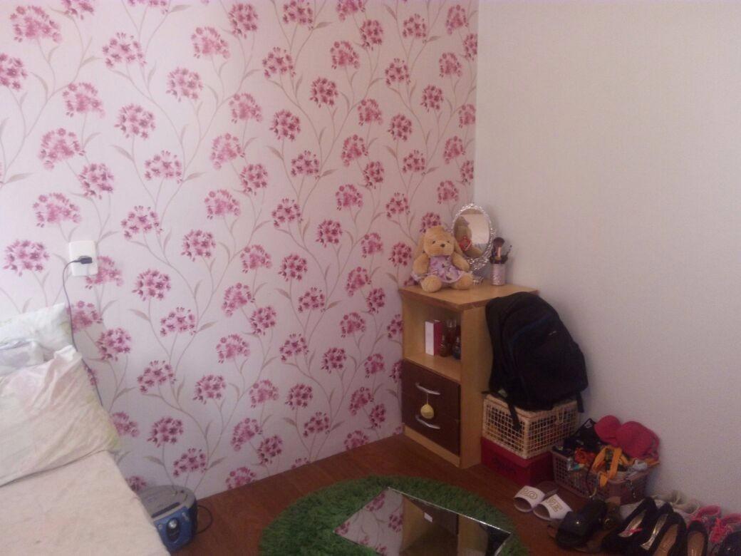 apartamento com 2 quartos, sala, cozinha, banheiro e 2 vagas
