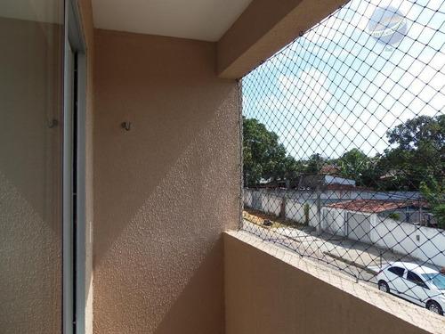 apartamento com 2 quartos, sendo um suíte, em cohabinal - ap0118