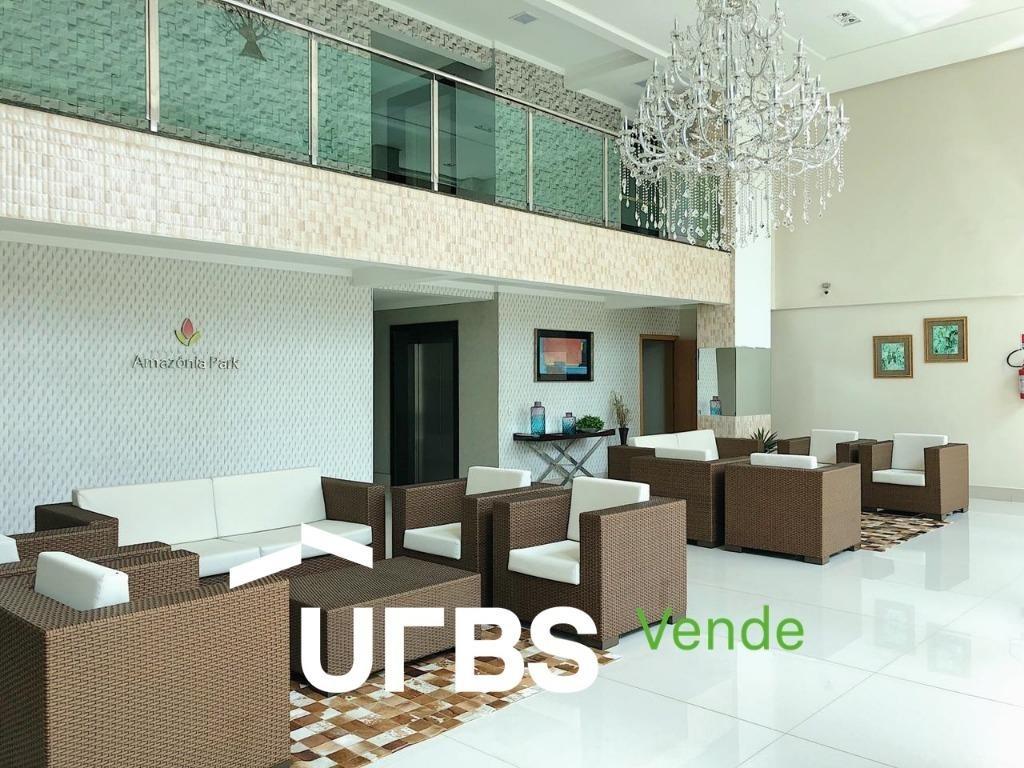 apartamento com 2 quartos à venda, 60 m² por r$ 280.000 - parque amazônia - goiânia/go - ap2518