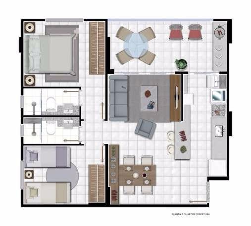 apartamento com 2 quartos à venda, parque amazônia