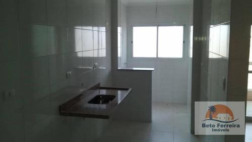 apartamento com 2 suítes e 1 vaga na garagem no canto do forte em praia grande - ap0169