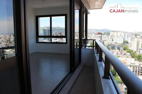 apartamento com 2 suítes e 2 vagas no bairro petrópolis - ap4078