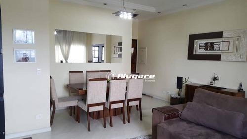 apartamento com 2 vagas cobertas à venda, 72 m² por r$ 330.000 - vila galvão - guarulhos/sp - ap2517