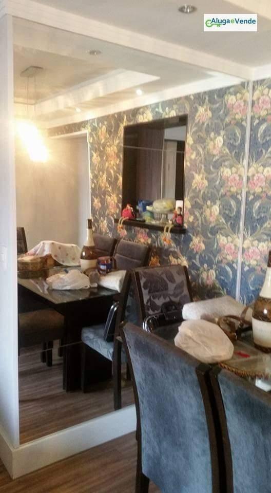 apartamento com 3 dormitórios, 1 suíte e 1 vaga de garagem à venda, no condomínio premium guarulhos, 71 m² por r$ 370.000 - macedo - guarulhos/sp - ap0133