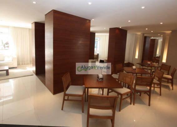 apartamento com 3 dormitórios, 1 suíte e duas vagas à venda no condomínio everyday, 103 m² por r$ 570.000 - centro - guarulhos/sp - ap0177