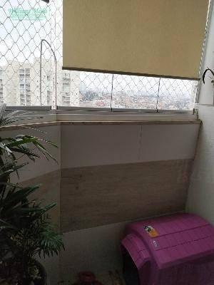 apartamento com 3 dormitórios (1 suíte) à venda, 80 m² por r$ 380.000 - macedo - guarulhos/sp - ap2566