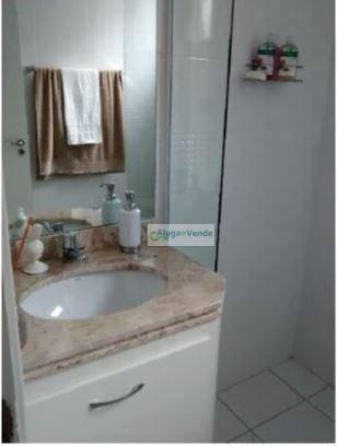apartamento com 3 dormitórios, 1 suíte à venda no condomínio fatto passion, 65 m² por r$ 330.000 - vila augusta - guarulhos/sp - ap0182
