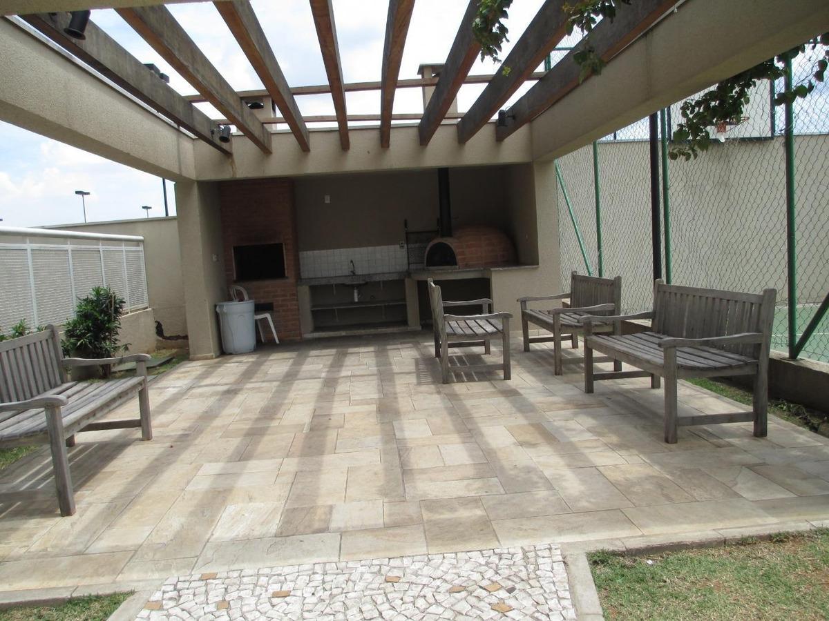 apartamento com 3 dormitórios 1 suíte à venda, no condomínio parque do sol  63 m² por r$ 330.000 - ponte grande - guarulhos/sp - ap0121