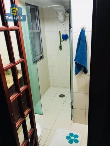 apartamento com 3 dormitórios - 130 m2 de área util para venda no bairro jardim. - ap8726